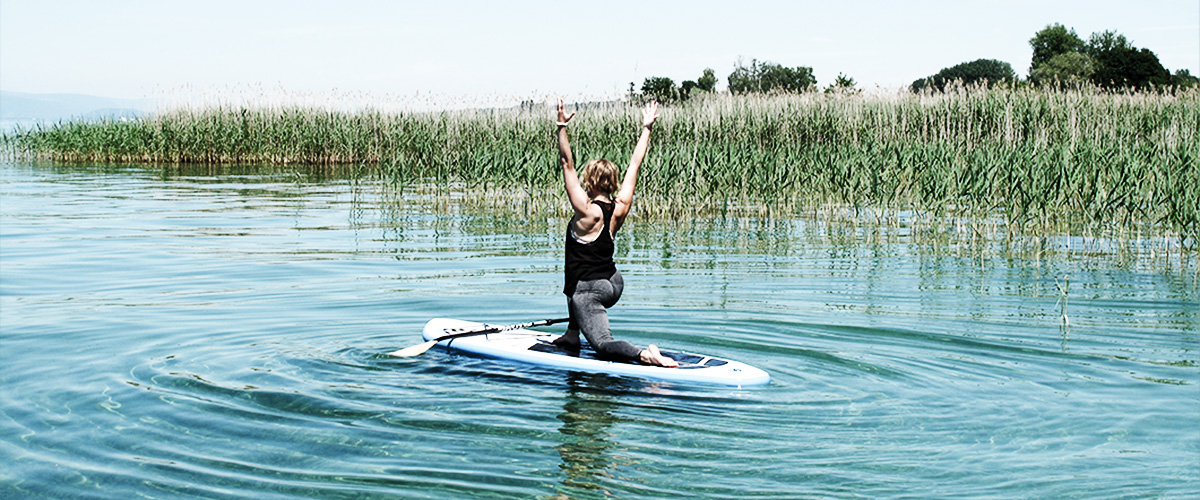 STAY WILD & FREE - SUP YOGA BERN