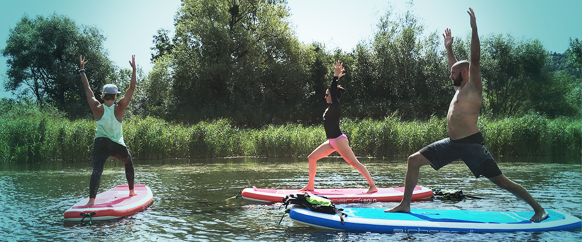 SUP YOGA BERN - FLOATING YOGA STUDIO